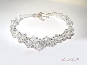 "Bratara ""Pure Crystal"", Swarovski Elements"