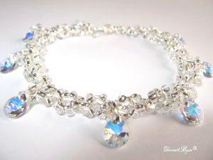 "Bratara ""Crystal Aurora"", Swarovski Elements"