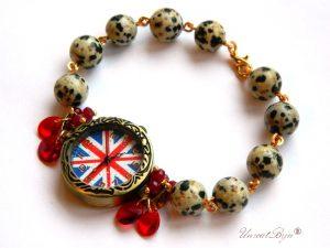 """Ceas """"British Dalmatian"""""""