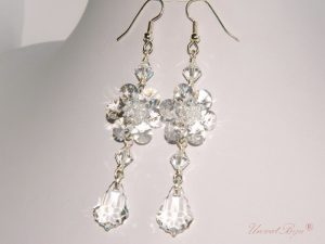 "Cercei ""Crystal Shine"", Swarovski Elements"