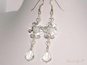 "Cercei ""Crystal Shine"", Swarovski Elements"