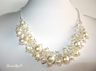 "Colier ""Pearl Joy"", Swarovski Elements"