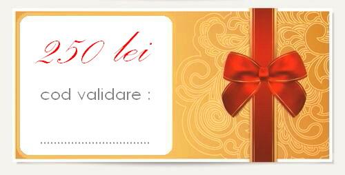 gift card 250 lei