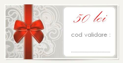 gift card 50 lei