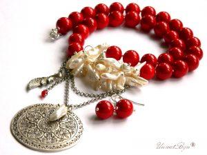colier-coral-rosu-bijuterii-semipretioase-unicat-colier-perle-biwa-albe-colier-statement-argintat-unicatbiju