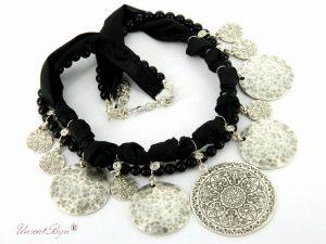 bijuterii-semipretioase-unicat-colier-salba-bijuterii-matase-naturala-negru-pandantiv-masiv-argintat-martisor-unicatbiju