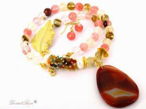 bijuterii-semipretioase-unicat-cuarturi-agat-multicolor-aurit-martisor-unicatbiju