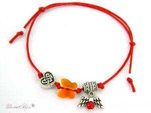 bratara-martisor-argintat-cristal-swarovski-snur-bumbac-rosu-fluture-orange-unicatbiju