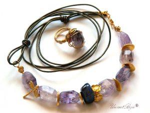 bijuterii-semipretioase-unicat-colier-piele-metalizata-bronz-ametist-masiv-libelula-aurita-inel-ametist-lucrat-manual-unicatbiju