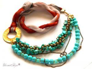 colier-matase-naturala-bijuterii-semipretioase-unicat-turcoaz-amazonit-perle-hematit-bronz-unicatbiju-aurit