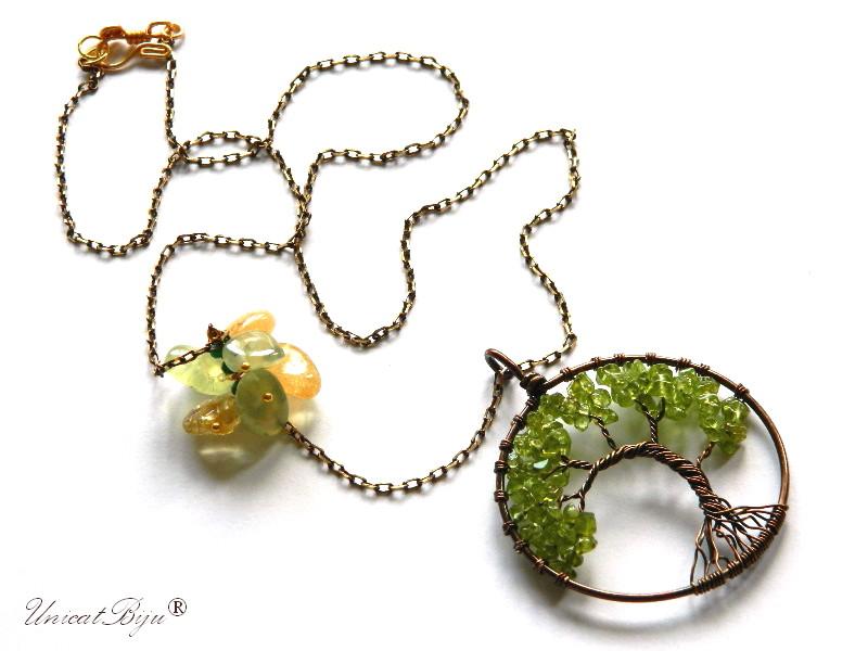 colier-lant-bronz-pandantiv-copacul-vietii-peridot-semipretioase-citrin-unicatbiju