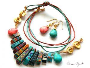colier-statement-snur-piele-naturala-bijuterii-semipretioase-unicat-turcoaz-unicatbiju