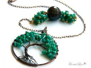 colier-copacul-vietii-amazonit-semipretioase-unicat-lant-bronz-unicatbiju