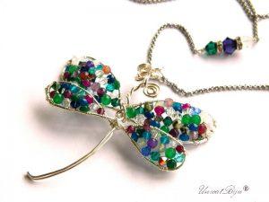 colier-libelula-cristale-swarovski-bijuterii-semipretioase-unicat-casual-statement-jad-multicolor-dragonfly-argintat-unicatbiju