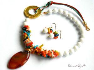 colier-onix-alb-mat-coral-multicolor-bijuterii-semipretioase-unicat-piele-naturala-aurit-pandantiv-carneol-unicatbiju-cercei-onix