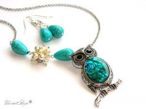 colier-pandantiv-bufnita-lant-argintat-paua-shell-perle-swarovski-bijuterii-semipretioase-unicat-unicatbiju