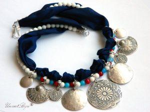 colier-salba-bijuterii-matase-naturala-coral-rosu-jad-albastru-onix-alb-banuti-argintati-salba-unicatbiju-statement