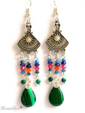 cercei-lungi-statement-semipretioase-malachit-jad-cristale-swarovski-bijuterii-vara-indiana-boho-style-unicatbiju