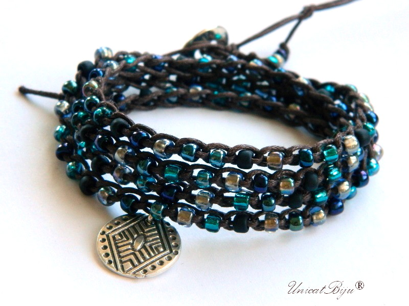 bratara-wrap-colier-versatil-toho-foita-argint-snur-bumbac-natural-bijuterii-eco-boho-style-unicatbiju-albastru-salba