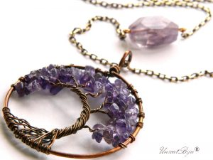 colier-lant-bronz-bijuterii-semipretioase-unicat-copacul-vietii-ametist-unicatbiju