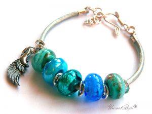 bratara-tip-pandora-piele-naturala-metalizata-perle-murano-foita-argint-aripa-inger-albastru-unicatbiju