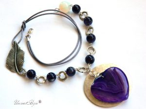 colier-statement-piele-naturala-bijuterii-semipretioase-unicat-ametist-inima-agat-argintat-unicatbiju-opal