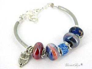 bratara-tip-padora-perle-murano-cristale-swarovski-snur-piele-naturala-bufnita-mov-unicatbiju