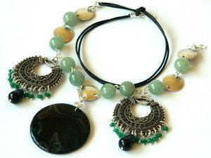 colier-salba-smarald-radacina-aventurin-bijuterii-semipretioase-unicat-pandantiv-inima-agat-unicatbiju