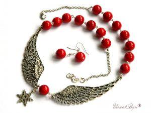 colier-aripi-argintate-coral-rosu-perle-mallorca-statement-bijuterii-semipretioase-unicat-unicatbiju