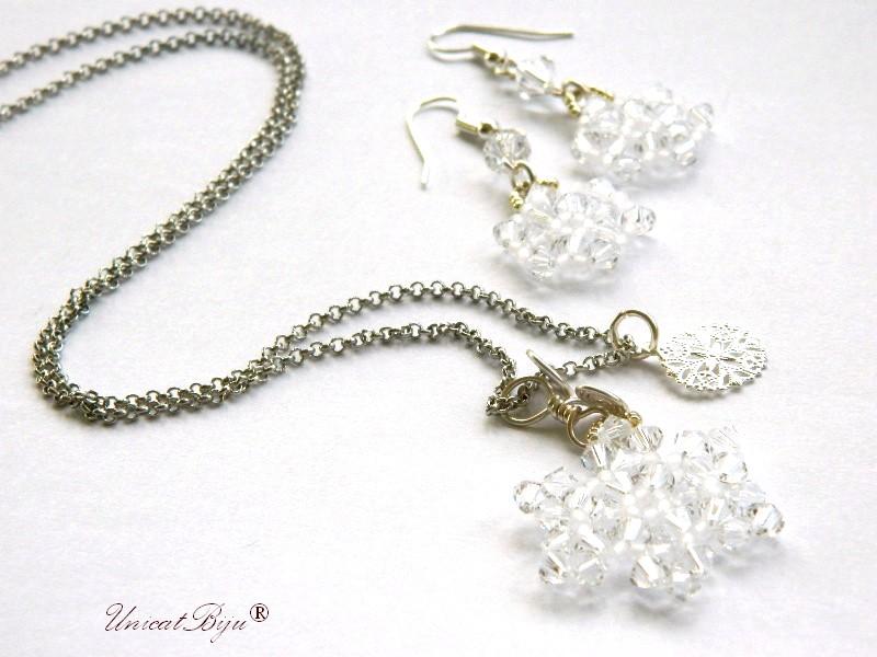colier-cristale-swarovski-fulg-zapada-alb-ingeras-cercei-lungi-bronz-bijuterii-unicat-cadouri-craciun-unicatbiju