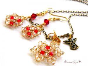 colier-cristale-swarovski-fulg-zapada-rosu-ingeras-cercei-lungi-bronz-bijuterii-unicat-cadouri-craciun-unicatbiju