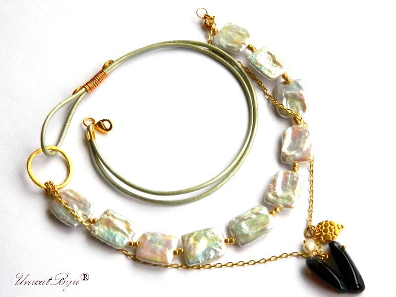 colier-statement-perle-keishi-albe-agat-botswana-bijuterii-semipretioase-unicat-piele-naturala-metalizata-unicatiju