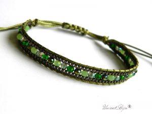 bratara-wrap-reglabila-cristale-statement-boho-style-negru-verde-unicatbiju