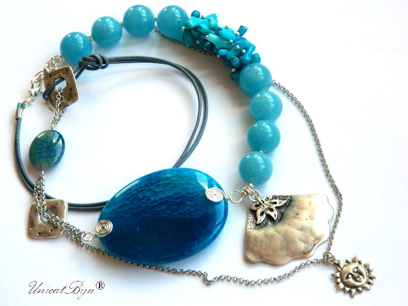 colier-angelit-coral-albastru-bijuterii-semipretioase-unicat-statement-scoica-argintata-unicatbiju