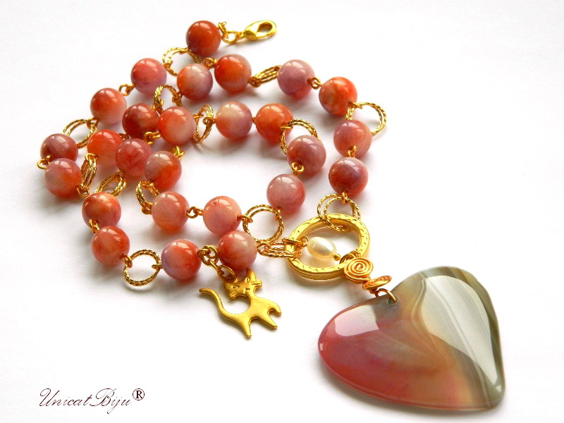 colier-jad-candy-bijuterii-semipretioase-unicat-pandantiv-agat-inima-aurit-charm-pisica-primavara-unicatbiju