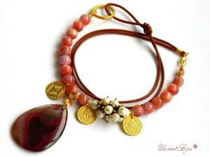 colier-jad-candy-rosu-perle-hematit-metalizat-bijuterii-semipretioase-unicat-pandantiv-agat-inima-banuti-salba-aurita-primavara-unicatbiju