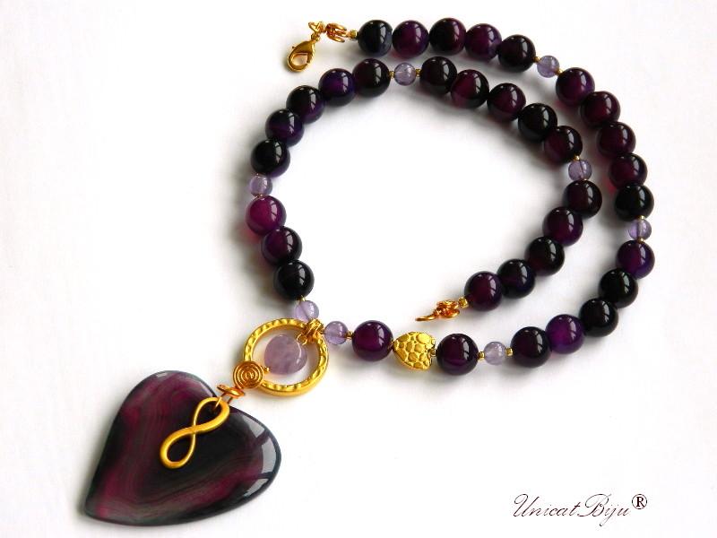 colier-jadeit-mov-ametist-bijuterii-semipretioase-unicat-pandantiv-agat-inima-aurit-primavara-unicatbiju