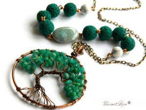colier-lant-cupru-vintage-boho-style-pandantiv-copacul-vietii-amazonit-agat-lava-semipretioase-unicatbiju
