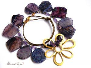 colier-statement-bijuterii-semipretioase-unicat-agat-mov-floare-aurita-accesorii-supradimensionate-ametist-unicatbiju