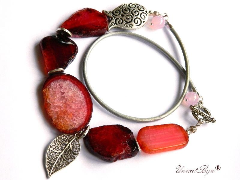 colier-statement-bijuterii-semipretioase-unicat-agat-rosu-masiv-cuart-roz-frunza-argintata-lalea-argintata-unicatbiju