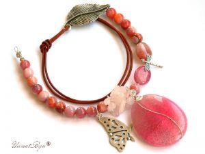 colier-statement-cuart-roz-bijuterii-semipretioase-unicat-agat-masiv-fluture-argintat-unicatbiju