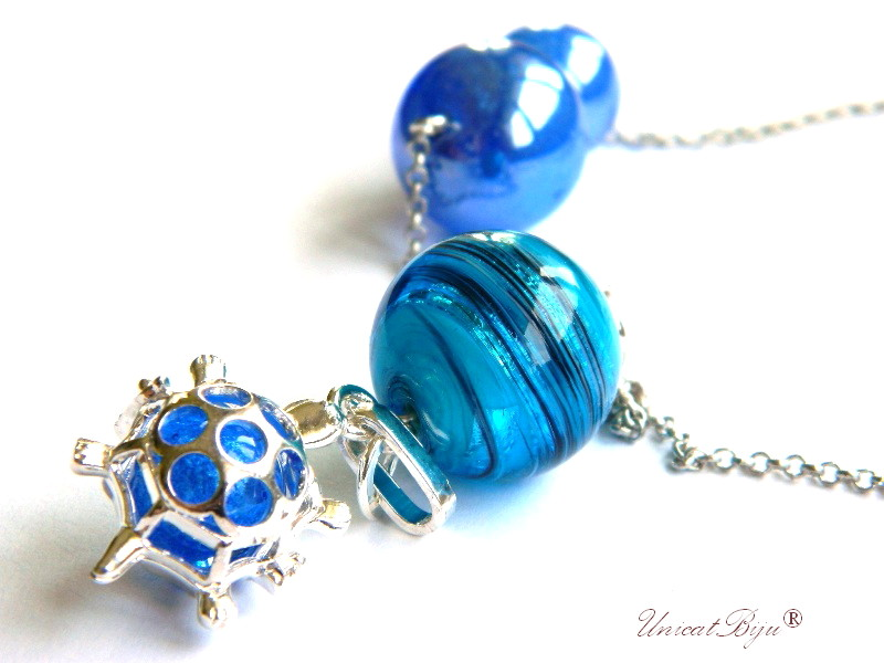 colier-lant-lung-pandantiv-broscuta-feng-shui-perle-murano-foita-argint-albastru-safir-unicatbiju