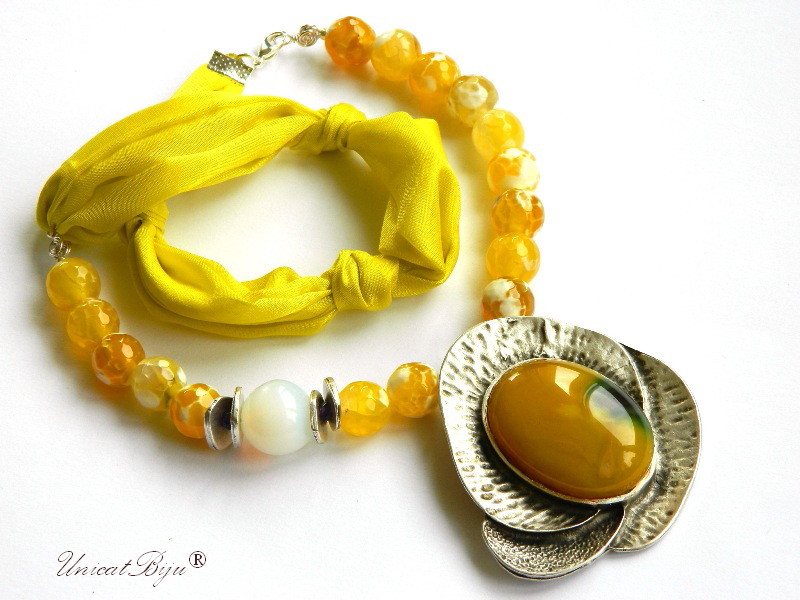 colier-matase-naturala-agat-dantelat-galben-jad-opal-bijuterii-semipretioase-unicat-statement-unicatbiju