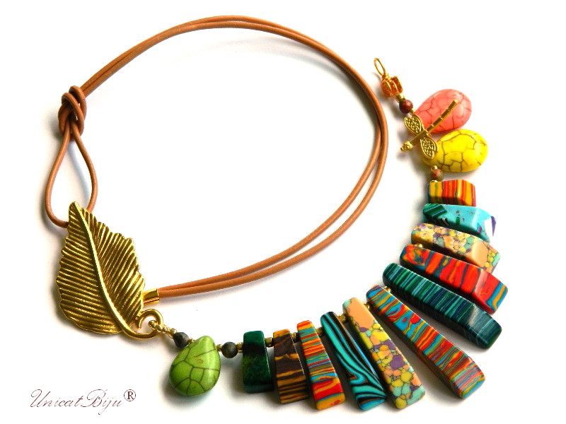 colier-statement-magnezit-multicolor-bijuteri-semipretioase-unicat-salba-aurita-verde-galben-unicatbiju